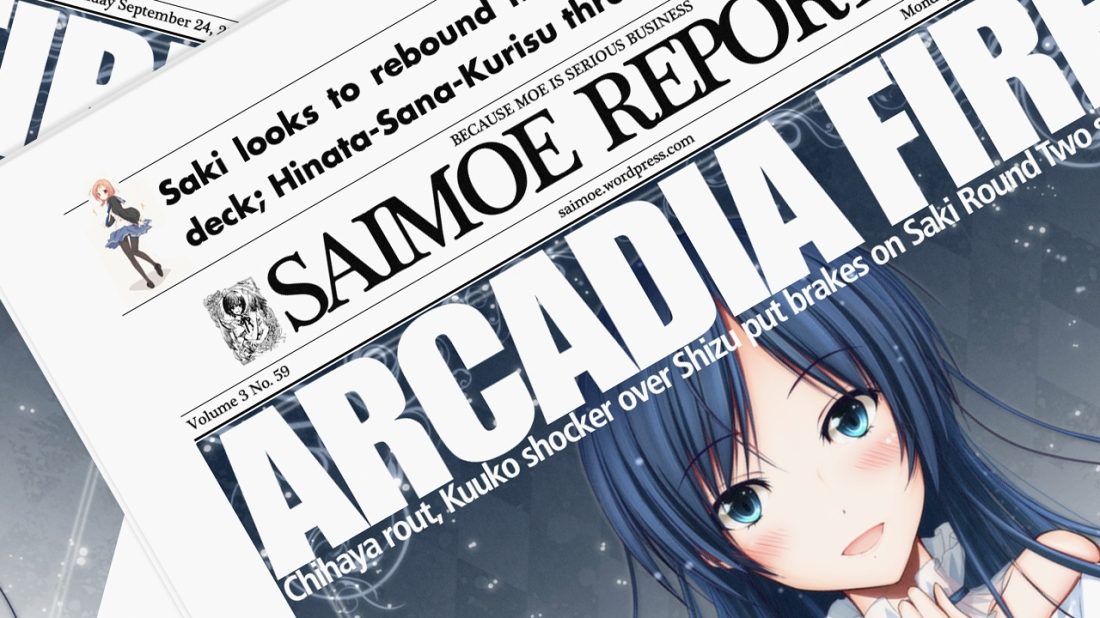 saimoe reporter volume 3 number 59